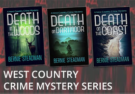 West country crime mystery series